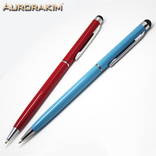 Buy Aurorakim 10pcs hot sale universal capacitive pen touch screen pen ball point pen Ipad Iphone Android mobiles for $4.49 in AliExpress store