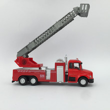 1:60 Alloy Simulating Fire Truck Toy Classic Car Model Toys For Children Kids Brinquedos