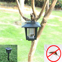 Solar LED Lawn Lamp Outdoor Garden Park Anti-Mosquito Bugs Insect Fly Lights Landscape Mosquito Repeller led Solar Lawn Light(China)