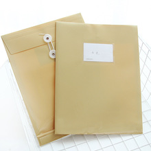 1492 man 5910 file cover Cattle plastic though A4 envelope folders can be waterproof and office supplies(China)
