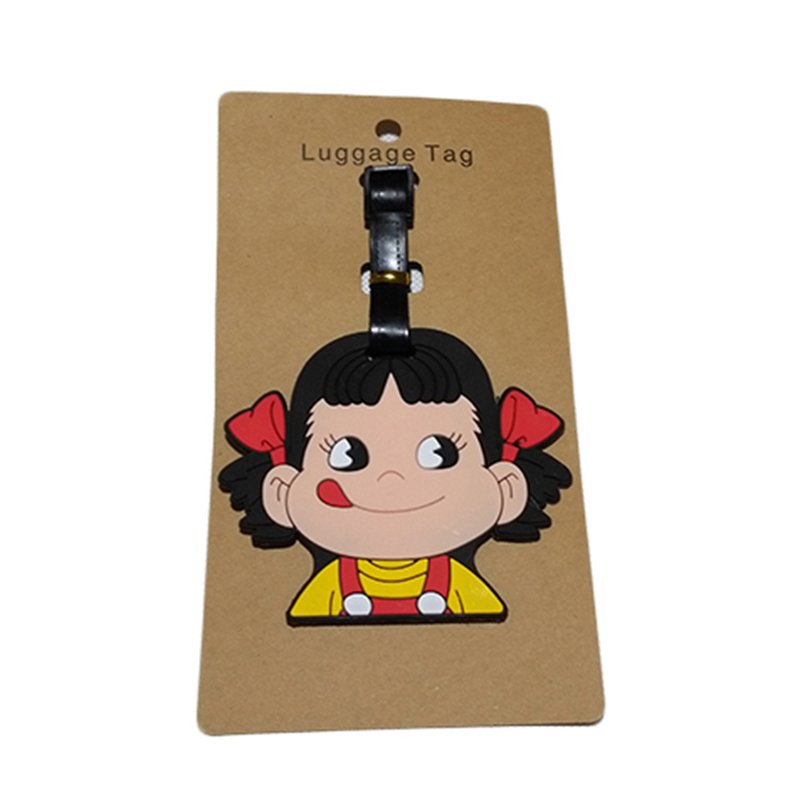 2018 New Fashion Silicon Luggage Tags Travel Accessories For Bags Portable Travel Label Suitcase Cartoon Style For Girls Boys (11)