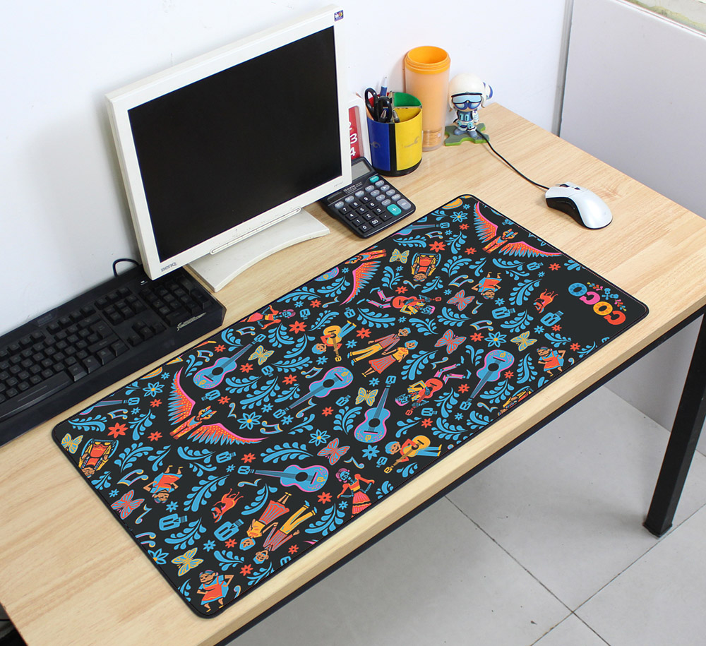 Custom Large mouse pad 700x400mm speed Keyboards Mat Rubber Gaming mousepad Desk Mat for game player Desktop PC Computer Laptop 1
