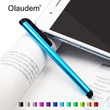Capacitive Touch Stylus Pen for iPad Mini iPhone 4 4S 5 5S Samsung Galaxy Note 2 3 4 N9100 for Xiaomi Lenovo Phones Tablet TP001(China)