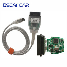 MINI VCI for TOYOTA Single Auto Diangnostic Cable V12.10.019 Support for Lexus/ Toyota TIS OEM Diagnostic Software(China)