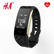 Bluetooth Smart Band S2 Wristband Heart Rate Monitor IP67 Waterproof Smartband Bracelet For Android IOS Phone