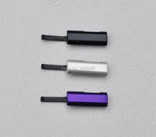BINYEAE For Sony Xperia Z Ultra XL39h C6806 USB Door Cap Cover Charging Port Plug Dust Plug Black / Silver / Purple(China)