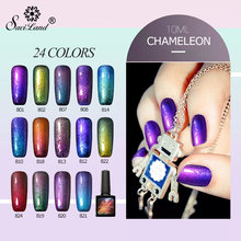 Saviland 10ml Colorful Chameleon Phantom Nail Gel Polish Need UV LED Gel Varnish Soak Off Fingernail Gel Lacquer