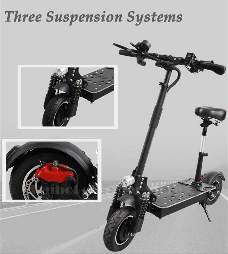 UBGO Powerful Electric Scooter 10 Inch 52V60V Two Wheel Electric Scooters Double Drive Electric Scooter 2000W Motor for Adults (15)