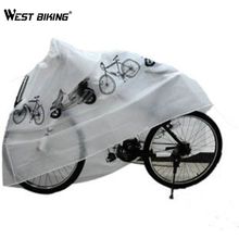WEST BIKING Bicycle Dust Cover Multipurpose Rain Sun Prevent Cover Waterproof Protection MTB Cycling Bike Motorcycle Dust Cover(China)