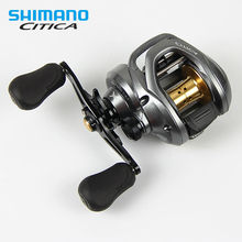 Shimano Citica 200IHG 201I RIGHT HANDLE LEFT HANDLE Casting Reel low profile fishing reel Bait Casting(China)