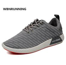 WBNRUNNING 2017 autumn new men's brand sports shoes, canvas breathable men's light running shoes model 131 size 39-44