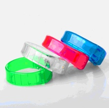 5PCS/LOT Music Activated Sound Control Led Flashing toy Light Up Bangle Wristband for Club Activity Party toy