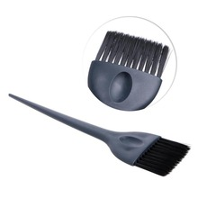 Keimei Professional Hairdressing Tint Brush for Hair Salon Tinting Hair Dye Tool Black Color Hairy Hair Comb(China)