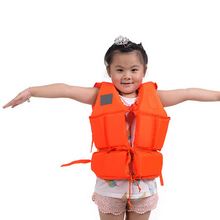 Kids Life Jacket Floating Vest Swimming Circle Pool Accessories Toy Boy Girl Swimsuit Floating Power Swimming Buoyancy +Whistle(China)