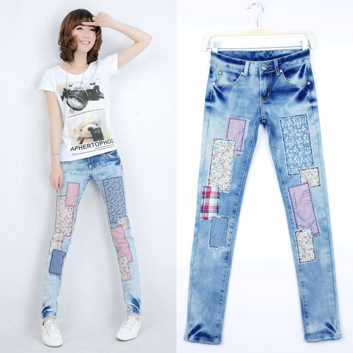New Jeans For Women 2017 Hot Jeans Woman Cal Denim Skinny High Waist Jeans Womens Calca Feminina Trousers For Women Summer StyleОдежда и ак�е��уары<br><br><br>Aliexpress