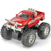 Brand New 2016 1:32 Big wheel off-road alloy car beach car models monster truck toys for children Have a shock Free Shipping