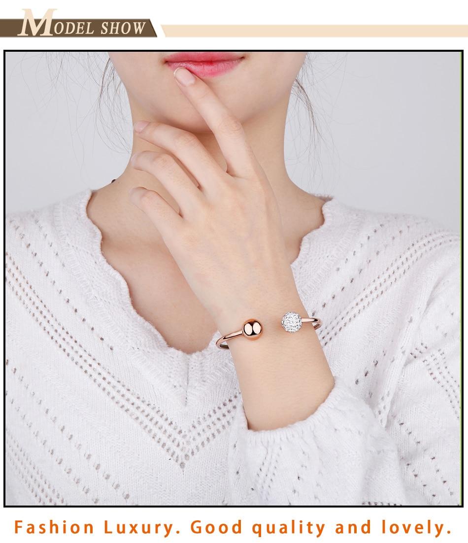 Gold Bracelets Bangles Stainless Steel (8)
