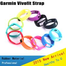 2015 new accessories Replacement wrist strap for garmin vivofit healthy fitness tracker and smart bracelets(China)