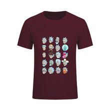 Casual men t-shirt Rick Morty Peace 3xl brand-clothing Rick Morty Anime pokemon T shirts men summer cotton undershirt