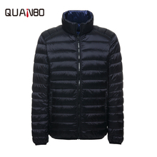 2017 New Autumn Winter Down Jacket Casual Brand White Duck Down Jacke Men's Ultra Light Down Down Jacket Male Windproof Parka