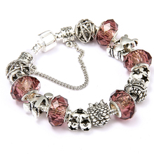 Buy Love Fruit DIY Charm Bracelet Little Boy Girl Romantic Couple Pandora Bracelet Women Jewelry Valentine's Day New Year's Gift for $2.45 in AliExpress store