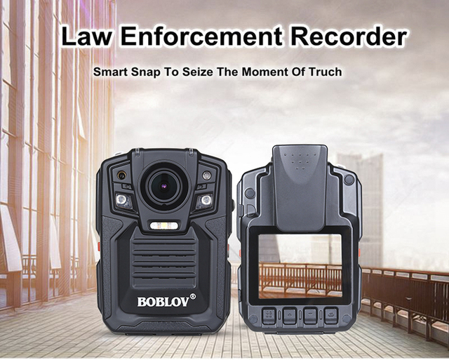BOBLOV HD 1290P Police 33MP Security External IR Infrared Lens Body Worn Camera Night Vision Motion Detection Portable Personal 6