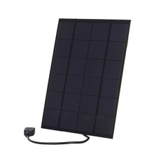 5.2W 5V USB Output Solar Cell Panel Size 210*165mm 1100mAh Polycrystalline PET + EVA Laminated Mini Solar Panel for Outdoor Use