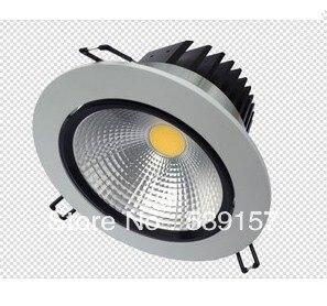 DHL Free Shipping High Quality 30W WW/PW/NW COB LED Ceiling light/COB LED Recessed light + Power supply AC85~265V 8pcs/lot<br>