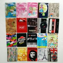PVC Leather Fashion Passport holder Credit Card Holder Travel Passport Cover 14*9.6CM ID Card Bag 22 style to choose