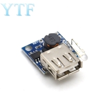DC-DC 2.6-5.5V To 5V 3A Step-Up Boost Power Module Ultra Mobile Power Bank Board With Power Capacity LED Indicator