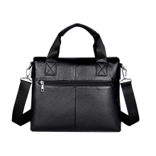 New Men's Genuine Leather Dress handbag,black/brown Shoulder bags Messenger bag Business laptop Bag M0039