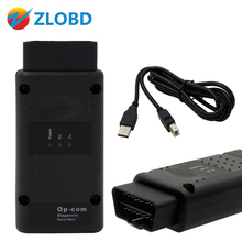 ZOLIZDA OPCOM V1.70 firmware High quality OP-COM For Opel Diagnostic-tool OP COM On Sale op com obd usb interface Free ship