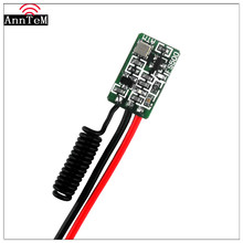 Anntem brand Remote Control Micro Radio Transmitter PCB 433 1CH Input Power Transmitting Signal for Car Bus Truck GSM Home Alarm