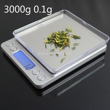 Buy High 3000g 0.1g Mini Electronic 3kg Digital Jewelry Scale Balance gram LCD Display kitchen Weighting Scales for $34.49 in AliExpress store