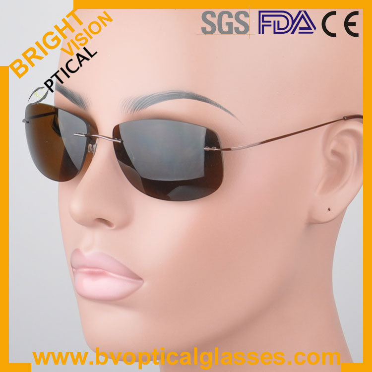 2piece rimless polycarbonate grey/brown sunglasses and 1 piece sports polarized sunglasses<br><br>Aliexpress
