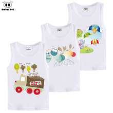 DMDM PIG Toddler Girl Children's Clothing Baby Boy Girl Clothes Kids Clothes For Boys T Shirts For Boys T-Shirts For Boys Girls