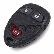 3pcs/lot New Keyless Entry Remote Car Key Fob for Cadillac Escalade 2007-2009 P/N15913420 OUC60270