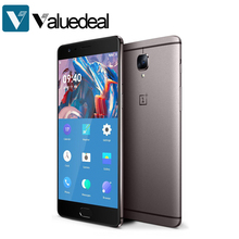 In stock ONEPLUS 3T A3003 International version 5.5inch FHD Android 6.0 OS Snapdragon 821 Smartphone 6GB RAM 64GB ROM phone(China)
