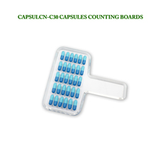 Free Shipping CN-30C Manual Tablet Counter/Pill Counter/Capsule Counter Board (Size 000-5)(Hong Kong)