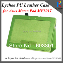 For Asus Memo Pad Smart ME301T PU leather stand case, ME301T PU Leather case, free shipping(China)