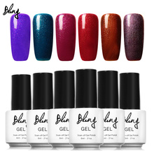 BILING 6ml Long Lasting Nail Gel Polish Soak Off Gel UV Gel Colorful Polishes Nair Art Pick Any 6 Colors in 132 Colors