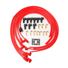 PRECISION AUTO LABS 7mm Red  Spark Plug ignition Wires  HEI  Spiral Core for  Chevy for GMC, 7.4L, Set