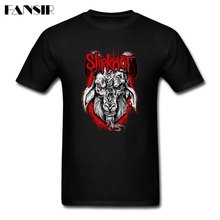 Men Tshirt New Designed Custom Cotton Short Sleeve T Shirt Men Boy Heavy Metal Band Slipknot Adult Clothing(China)