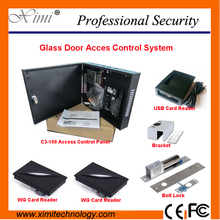 Hote Sale One Door Access Control Panel Smart ID Card Access Controller ZKteco TCP/IP Linux Access Control Software