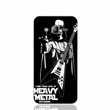 22419 Star Wars Darth Vader play Heavy Metal cell phone case cover for Samsung Galaxy J1 ACE J5 2016 J7 N9150