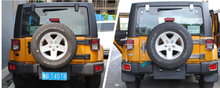 Rear Tailgate Hinge Covers trim for Jeep Wrangler 2007-2015