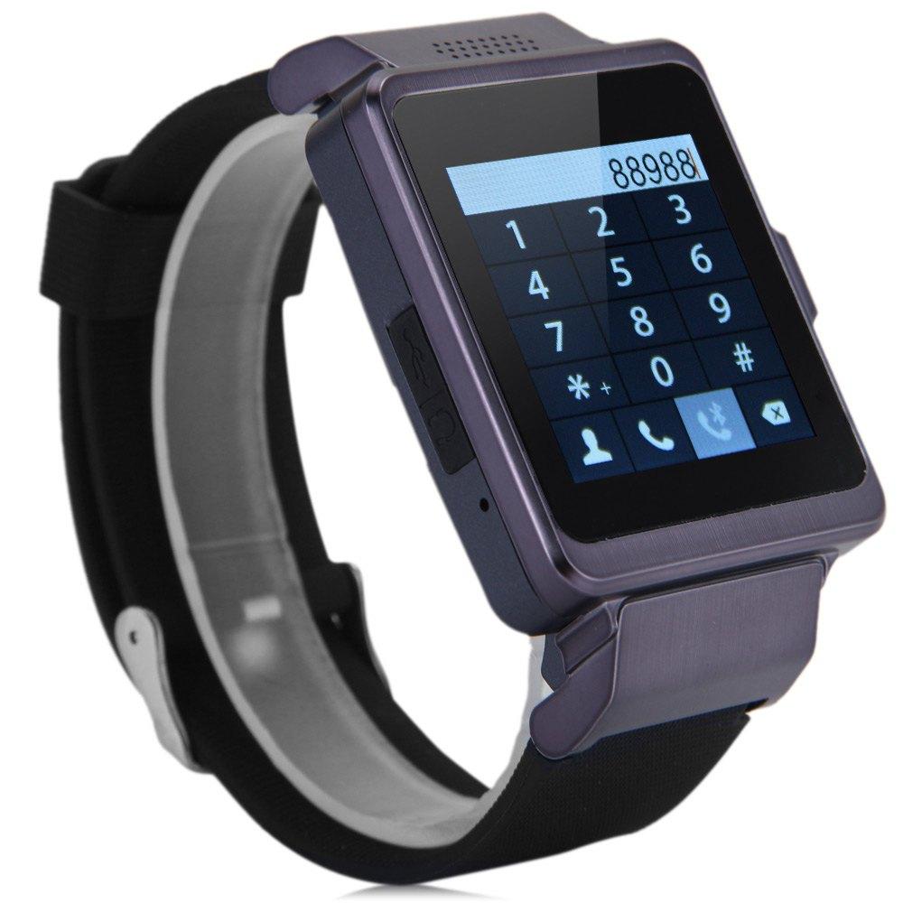 Fashion UPro P6 Smart Watch Phone Bluetooth Intelligent Wristwatch Camera Single SIM Watch Phone With Capacitive Touch Screen<br><br>Aliexpress
