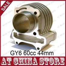 Buy GY6 50cc 60cc Chinese Scooter 44mm Upgrade Big Bore Cylinder Block,4T,139QMB 139QMA Moped for $10.99 in AliExpress store