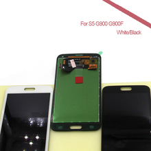 For Samsung S5 LCD G900F Disaplay LCD Screen with Touch Digitizer Assembly for Samsung Galaxy S5 G900 G900F LCD(China)