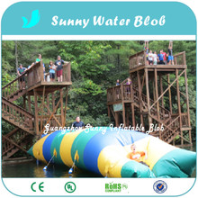 Free Shipping 12x2m Jump Blob Cheap Price For Outdoor Games High Quality Fun Water Games Inflatable Water Jumping Blob